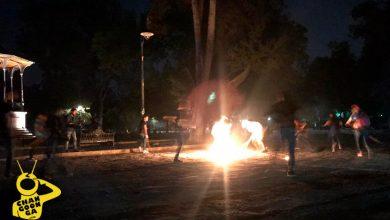 Photo of #Morelia La Pelota Encendida Del Uarukhua Rodó En El Bosque Cuauhtémoc