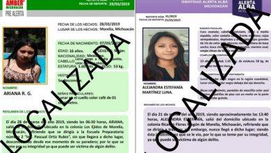 Photo of #Morelia Localizan Con Bien A 2 De 3 Estudiantes Desaparecidas
