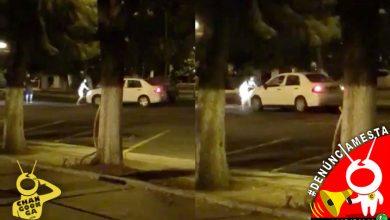 Photo of #Denúnciamesta Morro le echa encima el carro a su novia por escena de celos