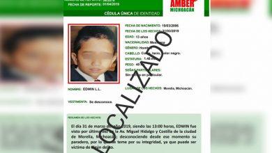 Photo of #Morelia Chavito De 13 Años Con #AlertaAmber Es Encontrado Sano Y Salvo