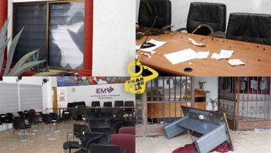 Photo of En Plena Reunión, Vandalizan Instalaciones Del Instituto Electoral De Michoacán