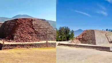 Photo of #Michoacán Previo A Las Vacaciones, Se Derrumba Parte De Yácata De Ihuatzio