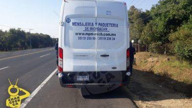 Photo of #Michoacán Ratas Intentan Robarte El Paquete; Disparan A Camioneta De Mensajería