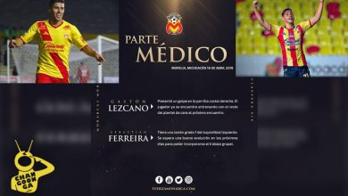 Photo of #Morelia Monarcas Da Parte Médico De Dos Jugadores
