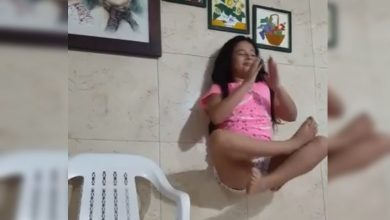 Photo of #Video Mamá Tumba Truco De Niña Que Levita