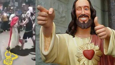 Photo of Pasa En México: Exhiben A 'Jesús' Bien Pedo En Representación De La Pasión