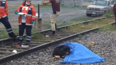 Photo of Peludito Se Niega A Separarse De Su Dueño Atropellado Por El Tren
