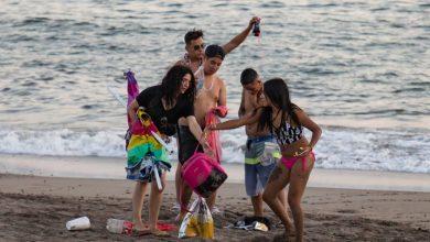Photo of Queman A Turistas Por Puercos Y Dejar Basura En Playa De Puerto Vallarta