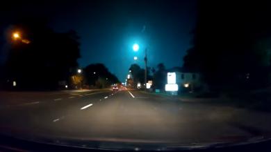 Photo of #Video Iban En Su Coche, Y Captaron Caída De Meteorito