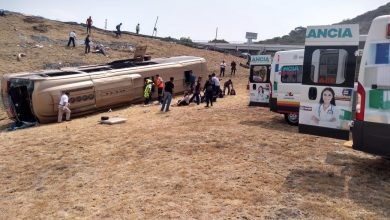 Photo of Trasladan A 27 Personas Heridas Tras Autobuzaso En La Morelia-Salamanca