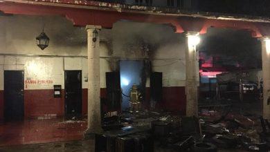 Photo of Destruido Palacio Municipal De Paracho Tras Fuerte Incendio