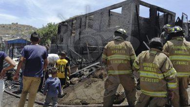 Photo of #Morelia Incendio Acabó Con 6 Casas Y Dos Peluditos En La Leandro Valle