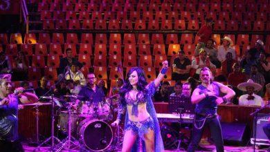 Photo of #Video Ya No Jala Gente, Maribel Guardia Canta A Unos Cuantos En Feria De Puebla
