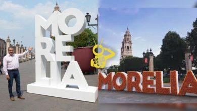 Photo of Morón Presume Nuevo Letrero Turístico De Morelia