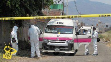 Photo of #Morelia Agarran A Supuesto Asesino Que Mató A Chofer De Combi Ruta Rosa 1