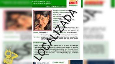 Photo of #Morelia Localizan A Estudiante De Secundaria De 13 Años Desaparecida