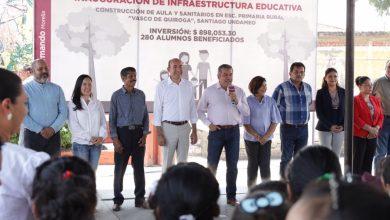 Photo of Raúl Morón Inaugura Infraestructura Educativa De Manera Simultánea En Zona Rural Y Urbana