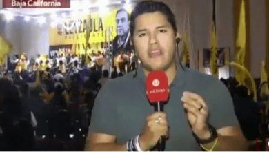 Photo of #Video Reportero La Riega Y Dice La Palabra Con V en Transmisión En vivo