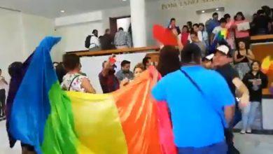 """Photo of #Video """"Si Se Pudo"""" Festeja Comunidad LGBTTTIQ En San Luis Potosí Por Legalización De Matrimonio Igualitario"""
