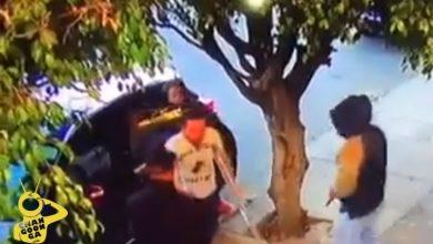 Photo of #Video HDSPM! 2 Lacras Roban Camioneta, Celular Y Cartera A Chavo En Muletas