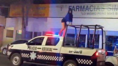 Photo of #Video Morra Hace Twerking Sobre Patrulla De Policía Estatal En Veracruz
