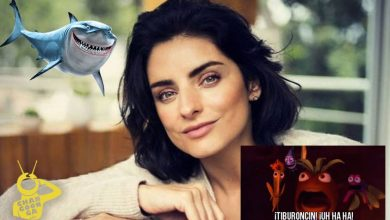 Photo of Asca: Aislinn Derbez Usa Mecos De Tiburoncín Uh Ha Ha Para Su Cutis Perfecto