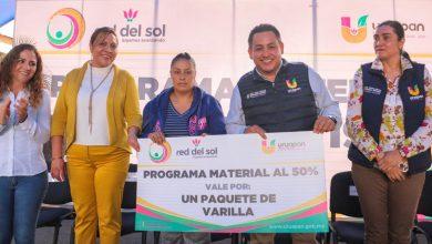"""Photo of Entrega Víctor Manríquez Materiales """"Al 50"""" En Beneficio De Miles De Uruapenses"""