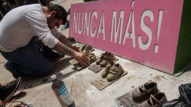 Photo of Roban Zapatos De Bronce De Antimonumento De Guardería ABC