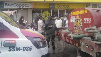 Photo of #Michoacán Pánico En Coppel De Apatzingán Por Cortocircuito