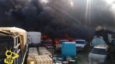 Photo of #Morelia Al Momento: Se Reporta Incendio En Corralón De Grúas