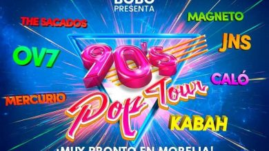 Photo of Regresaría El 90's Pop Tour A Morelia, Ahora Con Kabah, Magneto Y Mercurio
