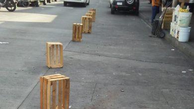 Photo of Retiran Objetos De La Calle Constitución Y Mercado Mártires De Uruapan