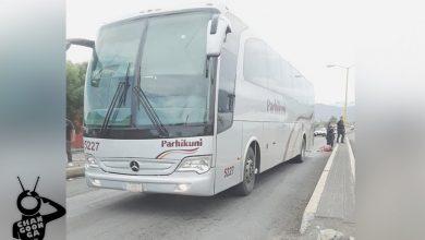 Photo of Autobús Parhikuni Arrolla A Señora Y Destroza Su Pierna Izquierda En Apatzingán