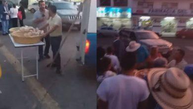 Photo of #Video Altruista Moreliano Multado Por Dar Comida En Hospitales Paga Infracción Y Regala Pan