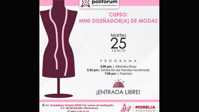 Photo of ¡Hoy! Alfombra Rosa Del Curso Mini Diseñador En Poliforum De Morelia