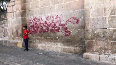 Photo of #Morelia Hasta 3 Años De Prisión Podrían Alcanzar Los Vatos Que Grafitearon Catedral