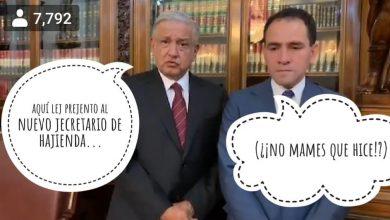 Photo of La Carita Del Nuevo Secre De Hacienda Inspira.. Y ¡Se Soltó La Memiza!