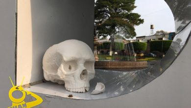 Photo of Colocan Cráneo En Letras Turísticas de Morelia Y Causa Curiosidad