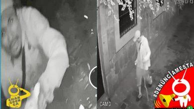 Photo of #Denúnciamesta Morro destruye a palos cámara de seguridad en Callejón del Romance