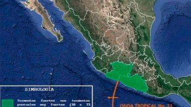 Photo of ¡Alerta! Paso De Onda Tropical Por Costas Michoacanas
