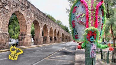 Photo of #Michoacán Tlahualiles Guerreros De La Fiesta En Honor Al Apóstol Santiago En Sahuayo