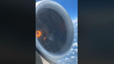 Photo of #Video Como En Destino Final: Pasajero Captó Falla En Motor De Avión