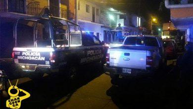 agente-policía-Michoacán-ebrio-hijo-Uruapan