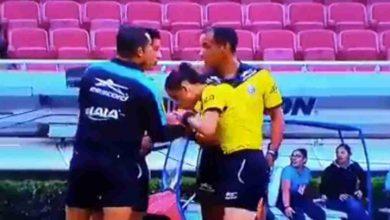 Photo of #Video En Liga MX La Árbitro Besa Las Manos De Compañeros Y Causa Polémica
