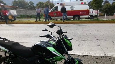 Photo of #Michoacán Motociclista Queda Herido Al Derraparse En La Zitácuaro-Toluca