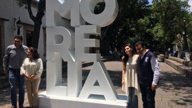 Photo of #Morelia Estrena Tótem Turístico En Calzada San Diego