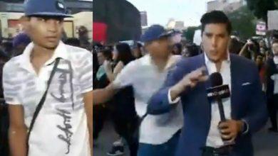 Photo of #Video Vato Noquea A Reportero En Plena Manifestación Feminista