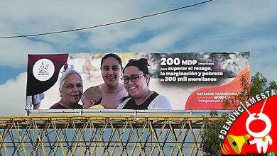 Photo of #Denúnciamesta: Chava acusa a Ayuntamiento Moreliano de utilizar su imagen en propaganda