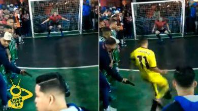 Photo of Chale: Cuate Amenaza Con Pistola A Futbolista Antes De Cobrar Penal; Lo Falla