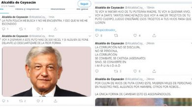 Photo of ¡Atacan De Nuevo! Hackean Cuenta De Alcaldía Y Amenazan A AMLO